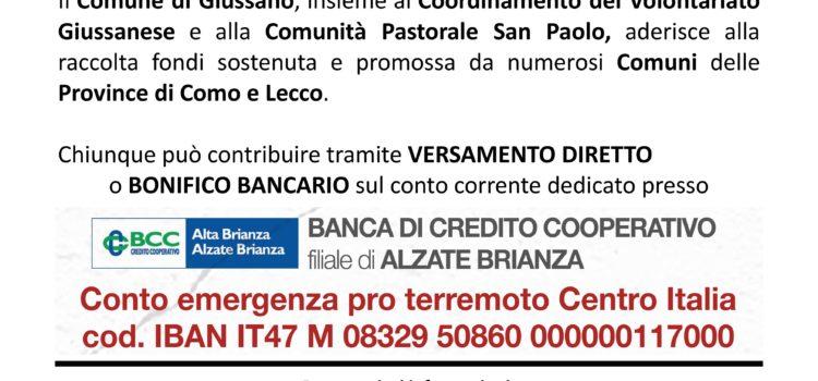 Terremoto centro Italia.