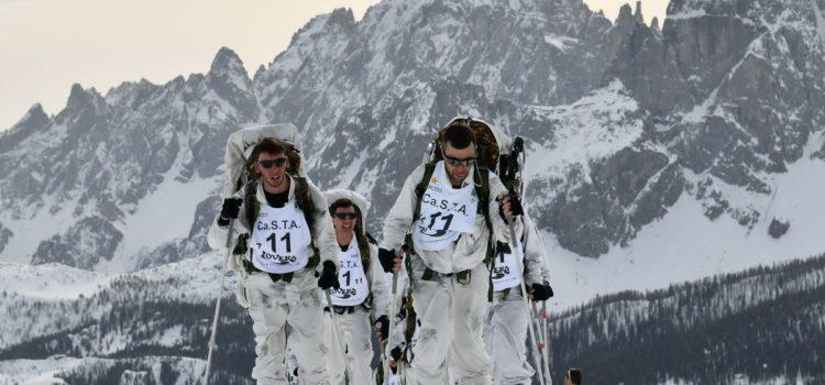 """CaSTA 2019, il 2° Reggimento Alpini di Cuneo si aggiudica il trofeo """"Buffa"""". Sulla neve dimostrata la grande capacità professionale di 2 mila militari – Report Difesa"""